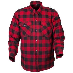 Scorpion Covert Flannel Shirt - Black/Red