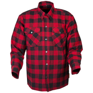 Scorpion Covert Flannel Shirt - Black/Red