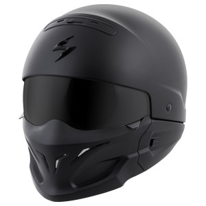 Scorpion Covert Helmet - Matte Black