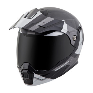 Scorpion EXO-AT 950 Cold Weather Helmet with Dual Shield -Silver