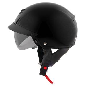 Scorpion EXO-C110 Half Helmet - Black