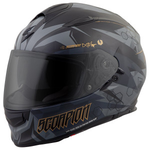Scorpion EXO-T510 Cipher Helmet - Black