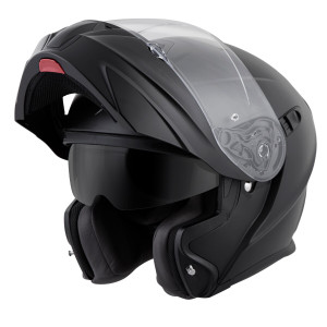 Scorpion EXO-GT920 Modular Helmet - Matte Black Open View
