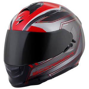Scorpion EXO-T510 Nexus Helmet - Red Black