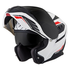 Scorpion EXO-GT920 Shuttle Modular Helmet - White/Black Open View