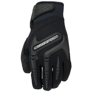 Scorpion Skrub Vented Motorcycle Gloves - Black