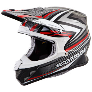 Scorpion VX-R70 Barstow Helmet - Red