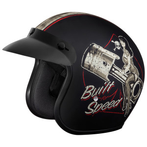 Daytona Cruiser Built For Speed Helmet