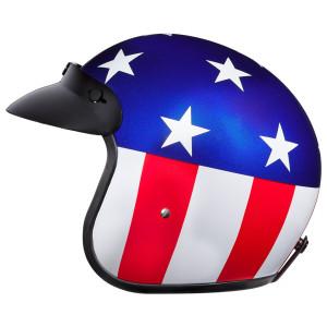Daytona Cruiser Captain America Helmet - Left