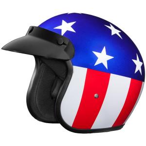 Daytona Cruiser Captain America Helmet