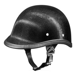 Daytona Novelty Carbon Fiber Polo Half Helmet