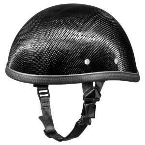 Daytona Novelty Eagle Carbon Fiber Half Helmet