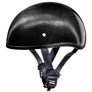 Daytona Skull Cap Carbon Fiber Half Helmet