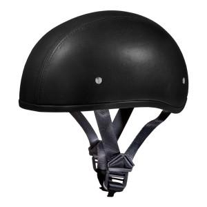 Daytona Skull Cap Leather Half Helmet