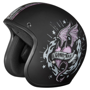 Daytona Women's Cruiser Gone Bad Helmet