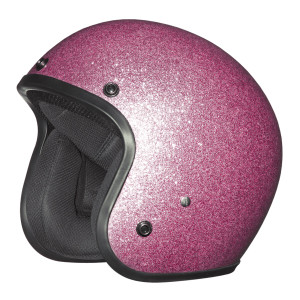 Daytona Women's Cruiser Metal Flake Helmet