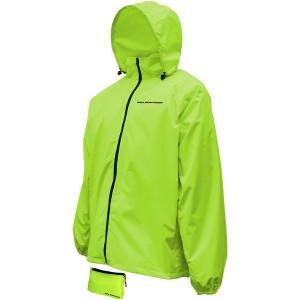 Nelson Rigg Compact Rain Jacket - Hi-Viz Yellow