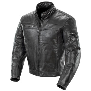Joe Rocket Powershift Mens Leather Motorcycle Jacket