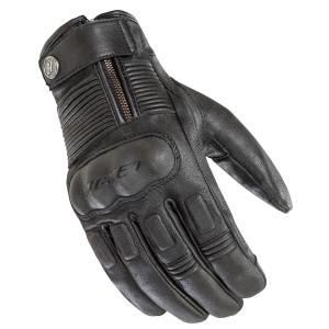 Joe Rocket Briton Mens Leather Motorcycle Gloves - Black