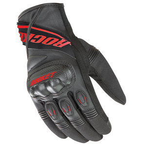 Joe Rocket V-Sport Motorcycle Gloves - Black/Red