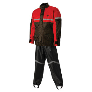 Nelson Rigg SR-6000 Storm Rider Rainwear with Hood - Red