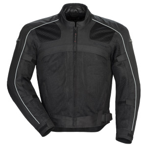Tour Master Draft Air Series 3 Jacket - Black