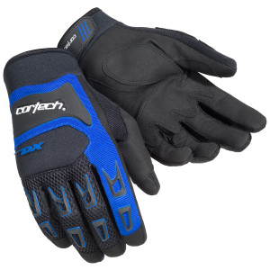 Cortech Youth DX 3 Gloves - Blue
