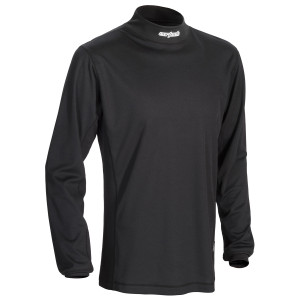 Cortech Journey Coolmax Mock Neck Mens Motorcycle Base Layer Top
