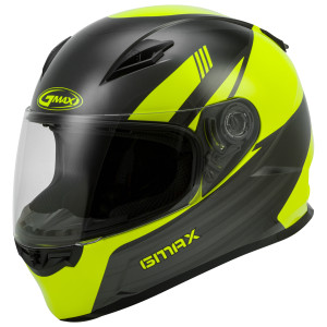 GMax Youth GM-49Y Deflect Helmet - Hi-Viz
