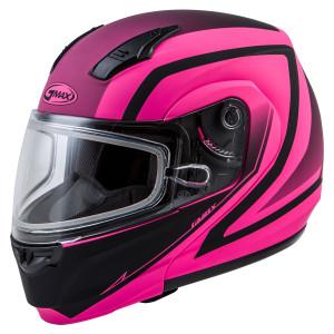 GMax Women's MD-04S Docket Snow Helmet With Dual Lens
