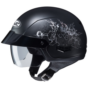 HJC Women's IS-Cruiser Amor Half Helmet - Matte Black