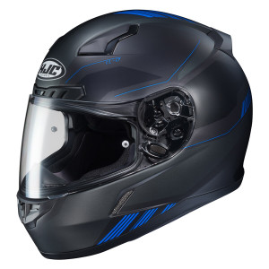 HJC CL-17 Combat Helmet - Black/Blue