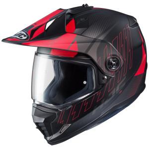 HJC DS-X1 Gravity Helmet - Black/Red