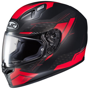 HJC FG-17 Talos Helmet - Black/Red