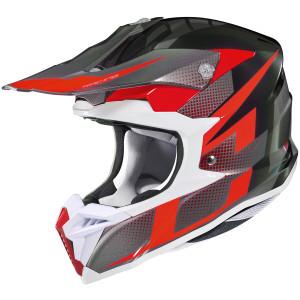 HJC i-50 Argos Helmet - Black/Red