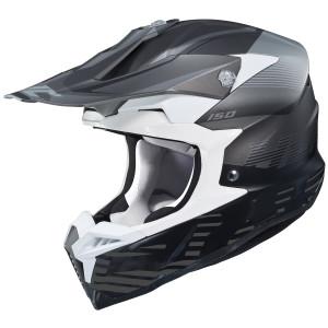 HJC i-50 Fury Helmet - Black/White