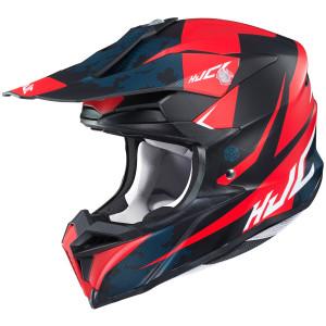 HJC i-50 Tona Helmet - Black/Red