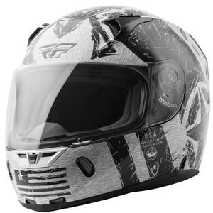 Fly Revolt FS Liberator Helmet - White/Black