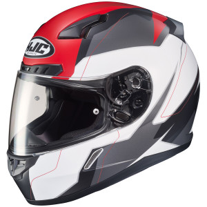 HJC CL-17 Omni Helmet -White/Red
