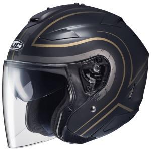 HJC IS-33 II Apus Helmet - Black/Gold