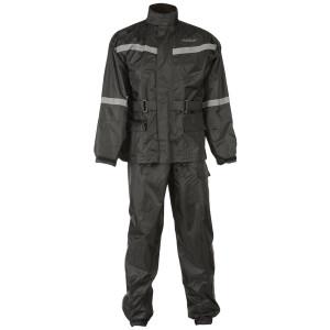 Fly 2 Piece Rain Suit - Black