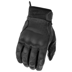 Fly Subvert Blackout Motorcycle Gloves