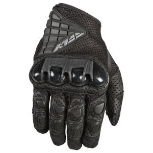 Fly Coolpro Force Motorcycle Gloves - Black