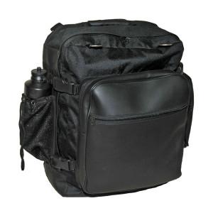 Vance VS330 Black Motorcycle Travel Luggage Backpack Sissybar Bag