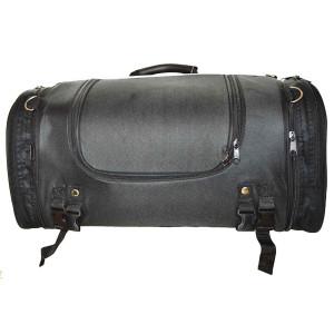 Vance VS363 Black Expandable Motorcycle Luggage Travel Sissy Bar Roll Bag