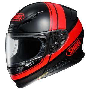 Shoei RF-1200 Philosopher Helmet - Black/Red