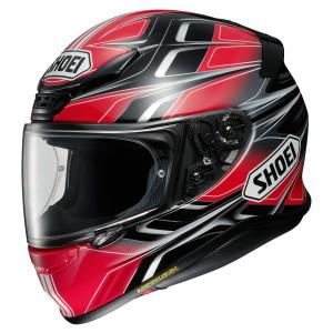 Shoei RF-1200 Rumpus Helmet - Red/Black