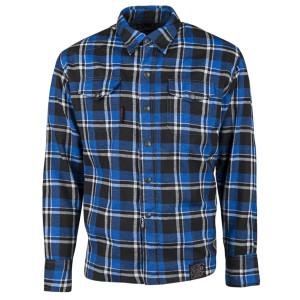 Speed and Strength Black 9 Moto Shirt-Black/Blue