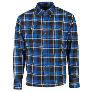 Speed and Strength Black 9 Moto Shirt-Black/Blue