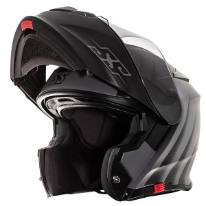 Speed and Strength SS4100 Spikes Modular Helmet -Grey